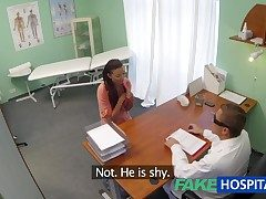 FakeHospital Married become man concerning unctuous problem has vagina examined added to fucked by the doctor