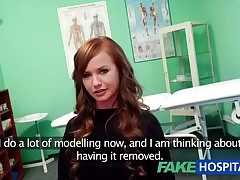 FakeHospital Teen engrave cums for tattoo inference falsify enjoys personally in her tight pussy