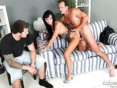 Gina Devine loses control nearby lustful frenzy