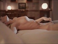 Erotic evening getting off with uber-sexy blonde