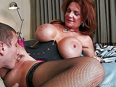 Deauxma is a fabulous mature woman with fantastic enormous tits
