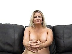 Fat Jug MILF Gets Romped and Creampied