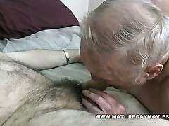 Obese Grandad Gets His Arse Plunged